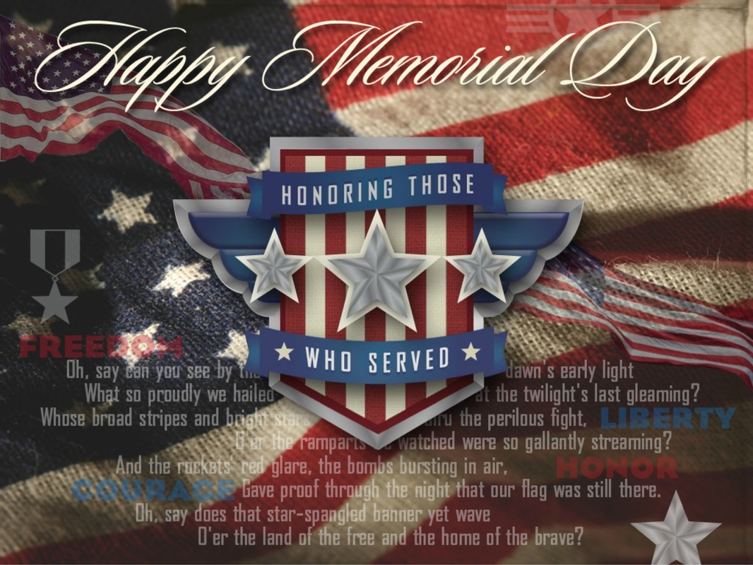 Happy Memorial Day Everyone Heres A Shout Out To All My Family And Friends Who Served In Our Armed Forces Thank You